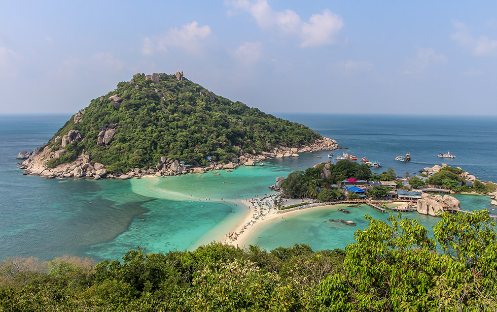 Koh Nang Yuan's incredible Viewpoint