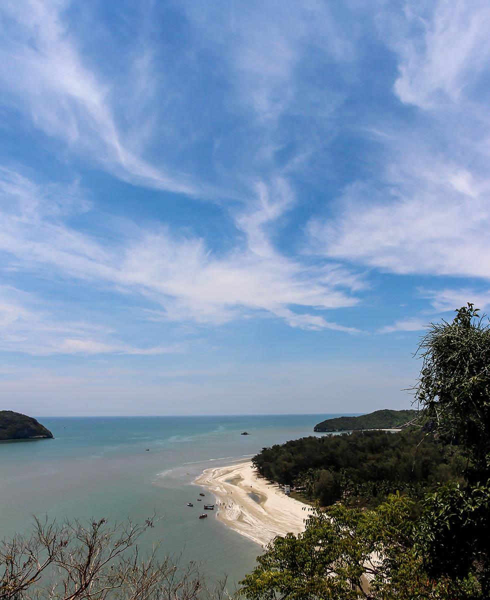 Local Laem Sala Beach, just outside Phraya Nakhon Cave