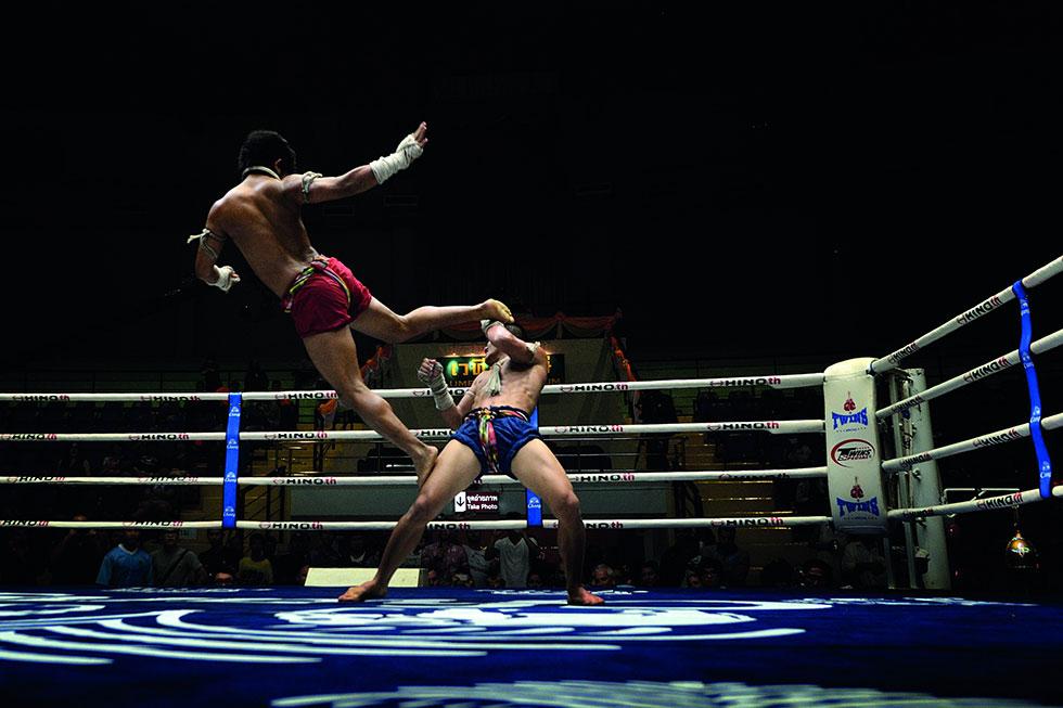 Lumpinee Boxing Stadium in Bangkok