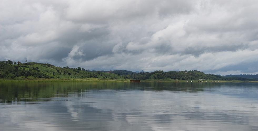 Sangkhlaburi lake