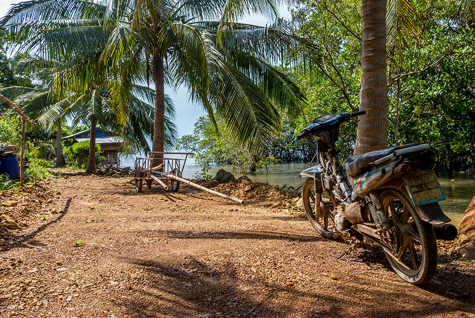 The dirtroads of Koh Tao