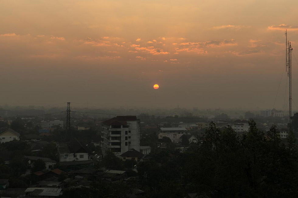 Smoky Season in Chiang Mai