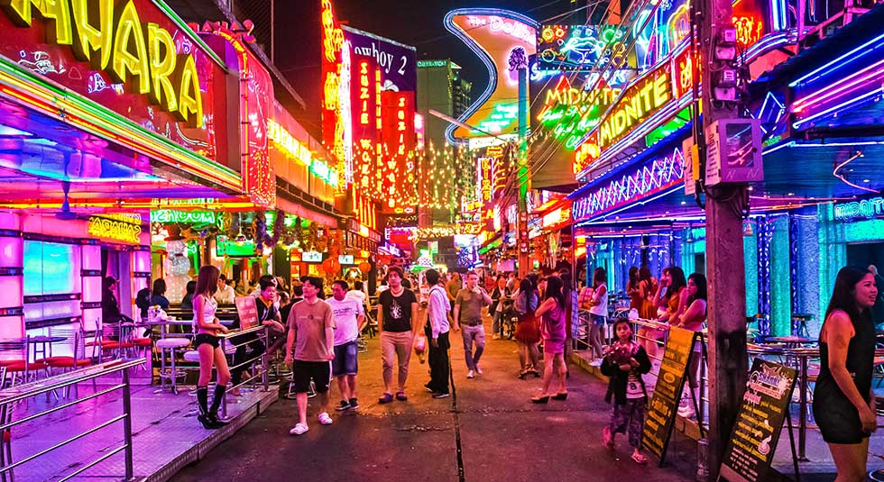 Bangkok's red light area: Soi Cowboy