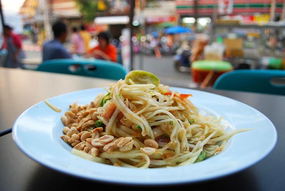 Som Tam streetfood