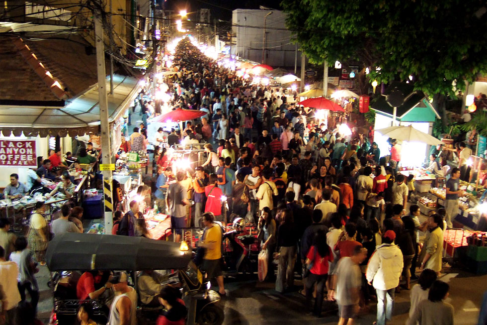 Sunday Walking Street in Chiang Mai