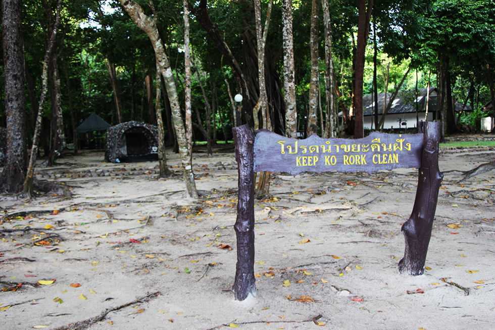 Keep Koh Rok Clean