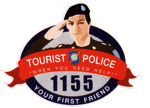 "Thai Tourist Police, ""Your first friend"""