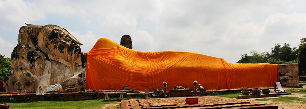 Wat Lokoyasutharam in Ayutthaya