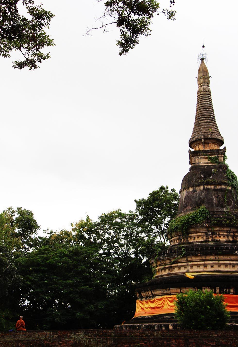 Wat Umong's chedi