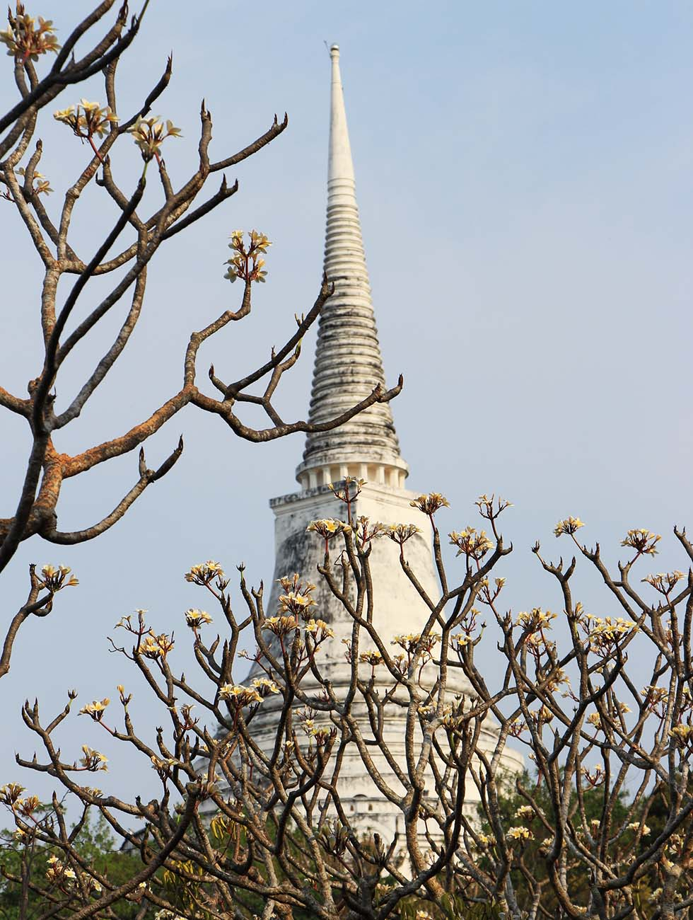 The White Tower in Phetchaburi