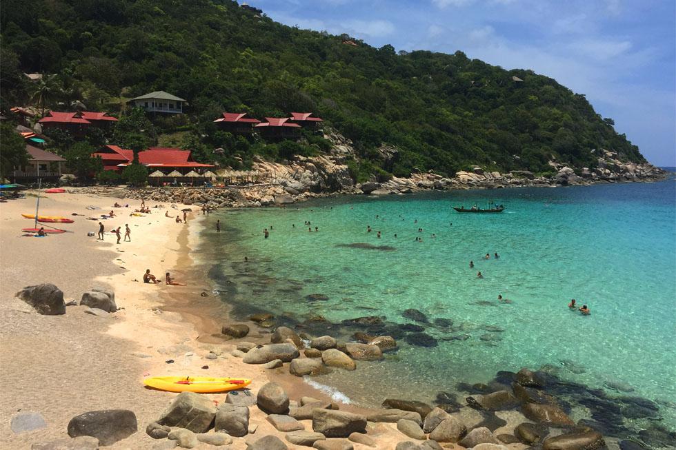 Ao Leuk Bay in Koh Tao