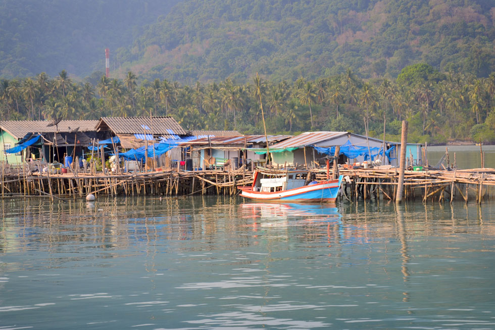 Bang Bao Pier in Koh Chang