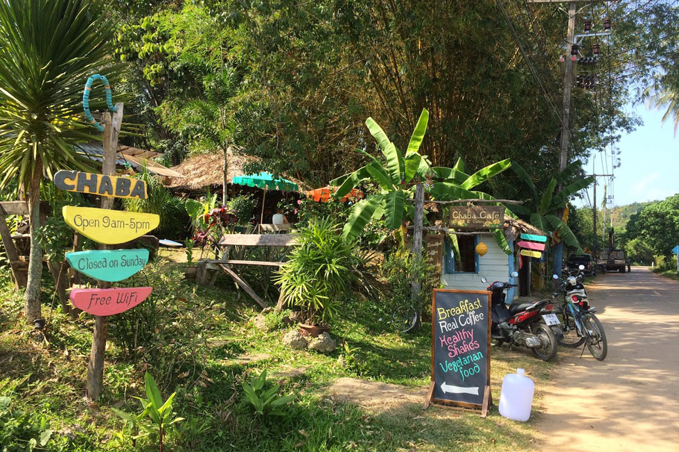 Chaba Restaurant on Koh Yao Noi
