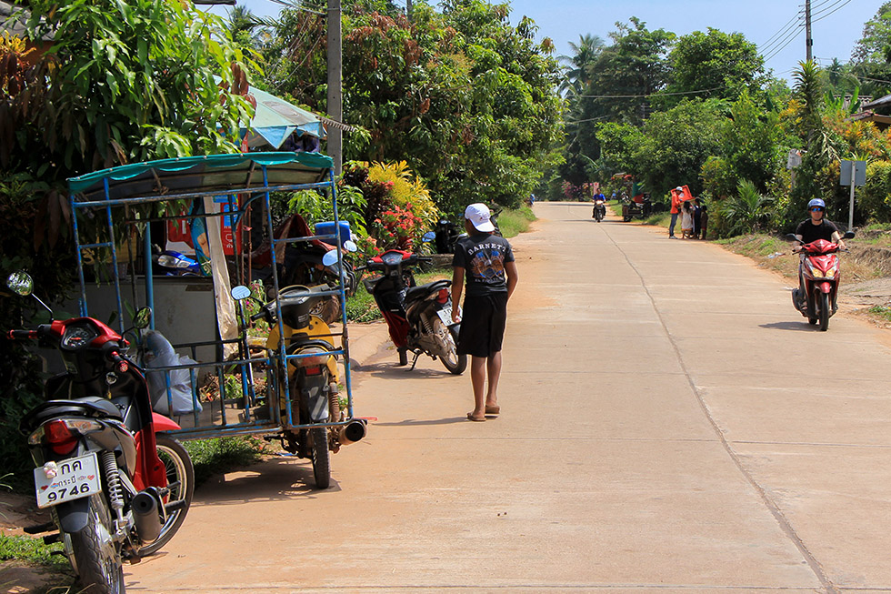Streets of Koh Jum
