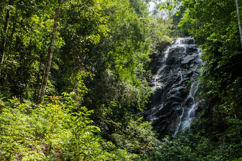 Phaeng Waterfall at Koh Phangan