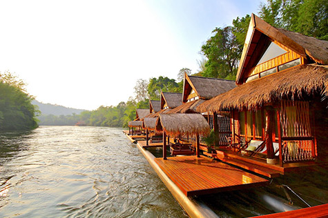 The Float House River Kwai, Kanchanaburi