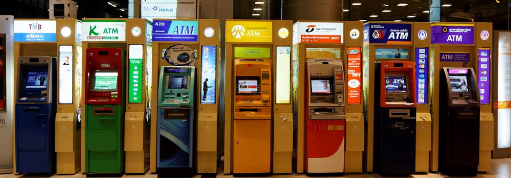 ATM's in Thailand