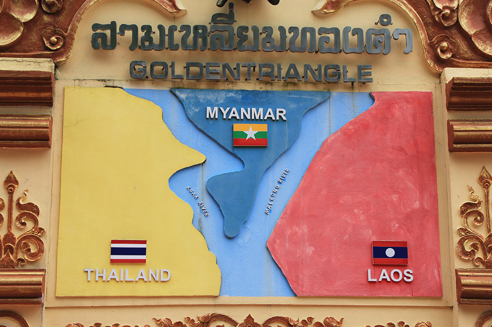 The Golden Triangle of Thailand, Myanmar and Laos