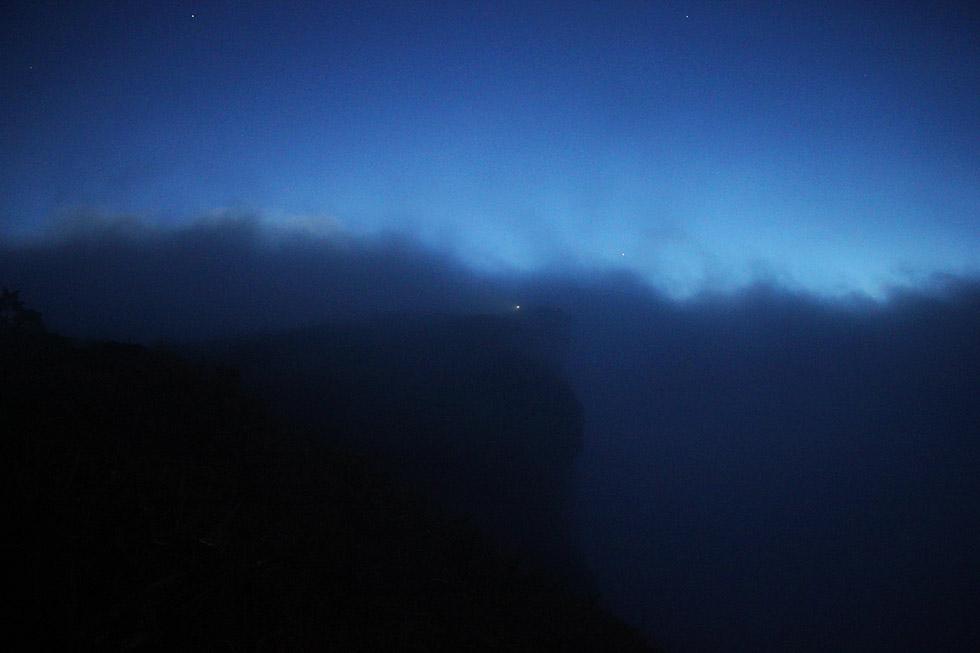 Phu Chi Fah's mountaintop