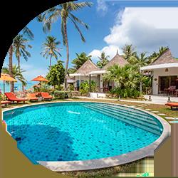 Secret Garden Beach Resort, Koh Samui