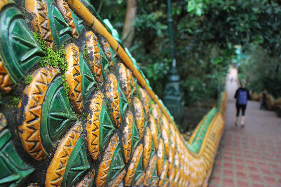 Doi Suthep's beautiful staircase
