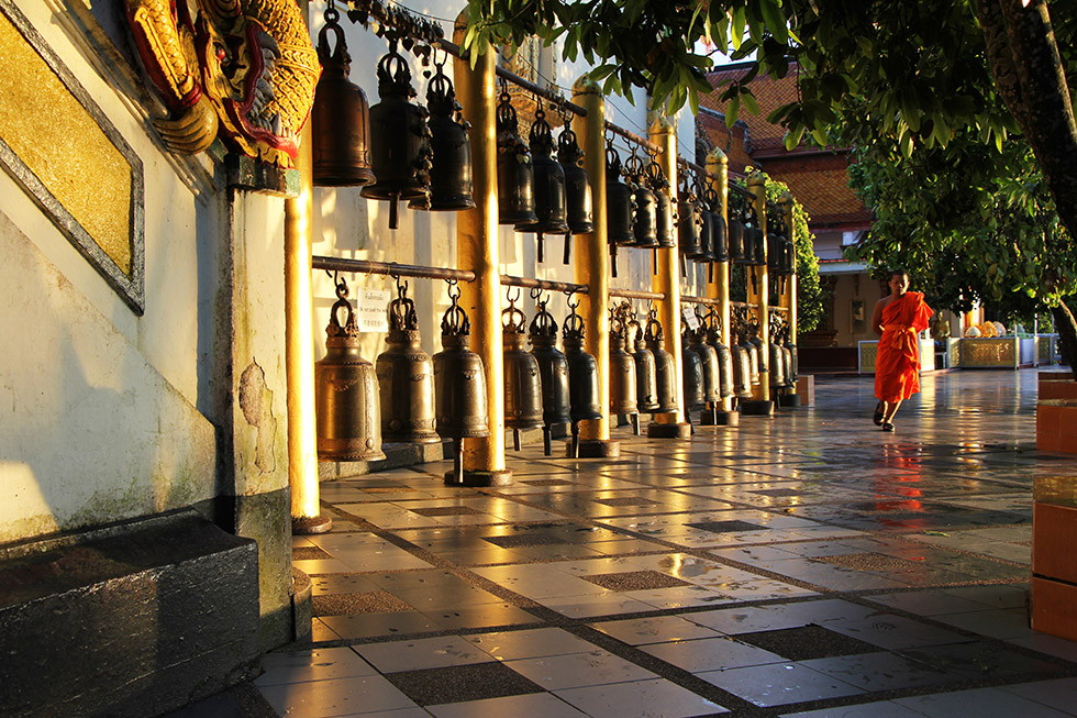 Sound the bells for good luck - Doi Suthep