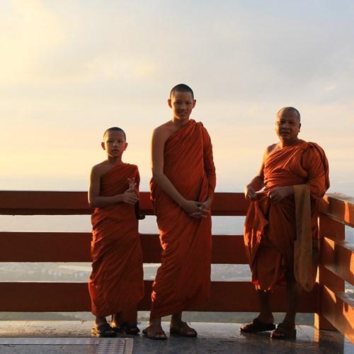 Monks at Doi Suthep