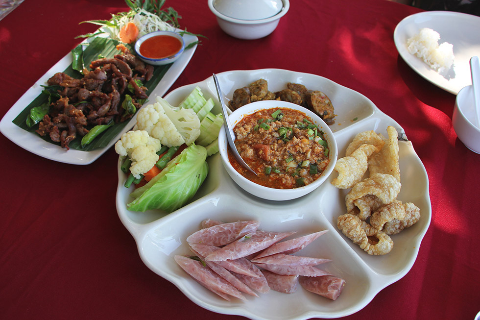 Nam Phrik at Sanae Doi Luang in Chiang Dao