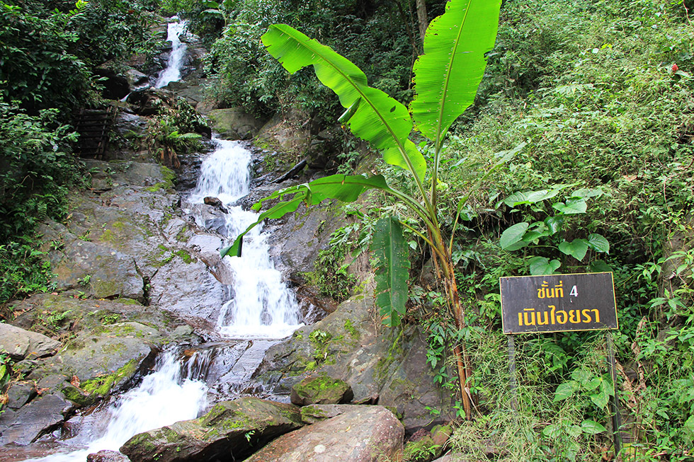 Level 4 at Champa Thong Waterfall in Phayao