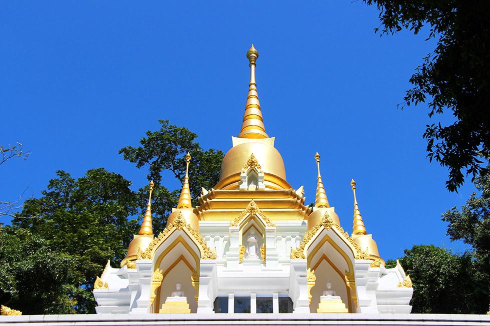 Wat Nam Tok Hin Lat on Koh Samui