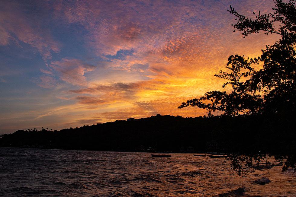 Sunset at Chalok Bay, Koh Tao
