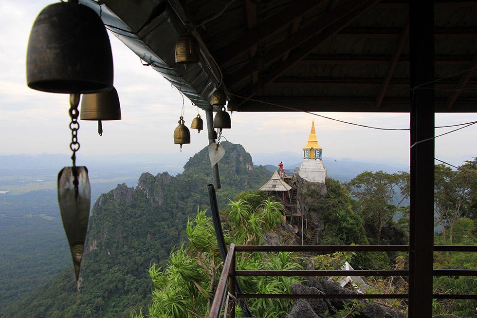 Bells at Wat Chalermprakiat in Lampang