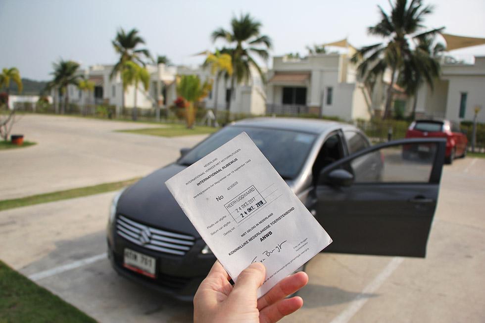 Dutch International Drivers Licence