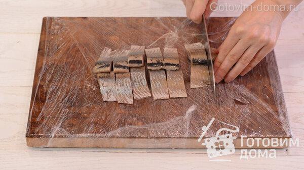 Jak rychle vyčistit sleď na filé bez kostí fotografie na receptu 11
