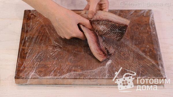 骨なしで切り身のニシンをすばやくはがす方法レシピ写真7