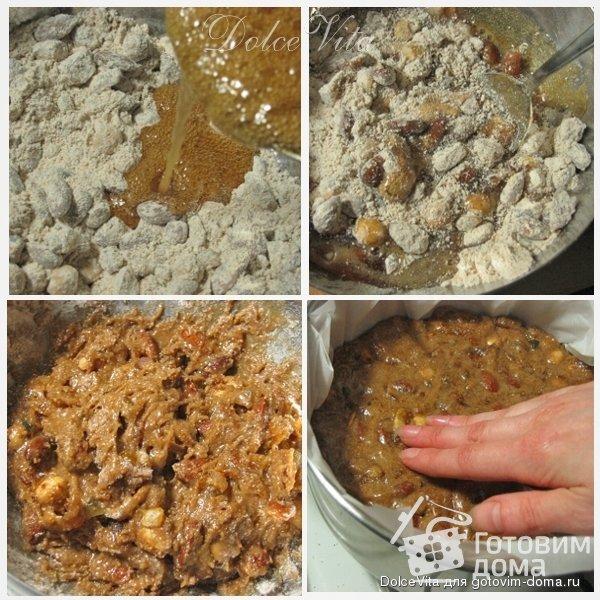 Panforte di Siena - Итальянские рождественские сладости фото к рецепту 2