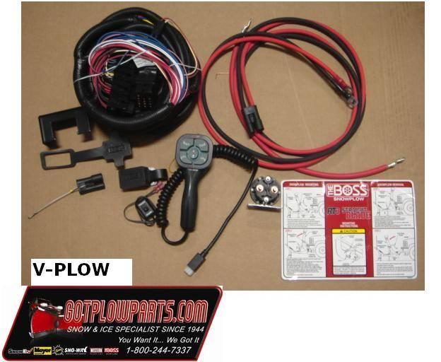 Boss V Plow Wiring Harness