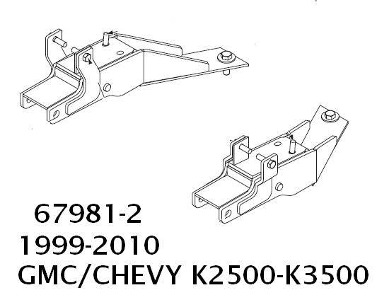 Western UltraMount Kit 67981-2 1999-2010 GMC, Chevrolet