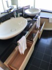 Haven Master Bath sinks and storage