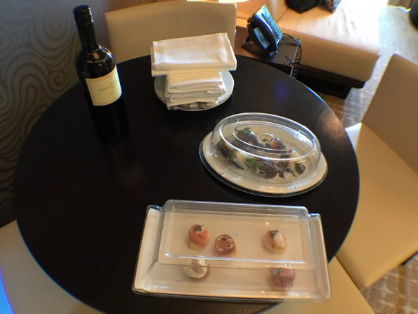 haven sample canapes