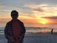 Beach Sunset with Doug