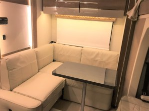 RV Interior Dining