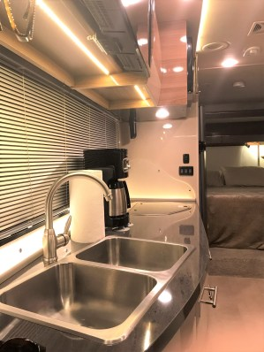 RV Interior Kitchen