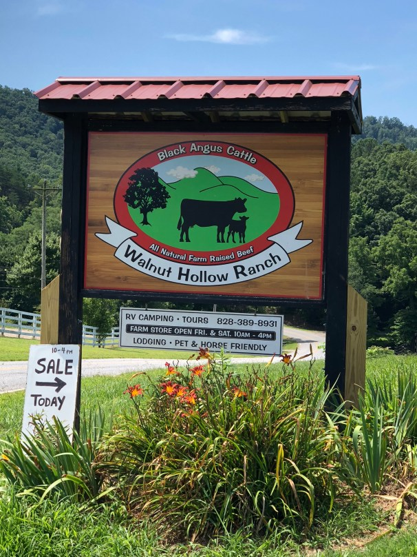 Walnut Hollow Farm Sign
