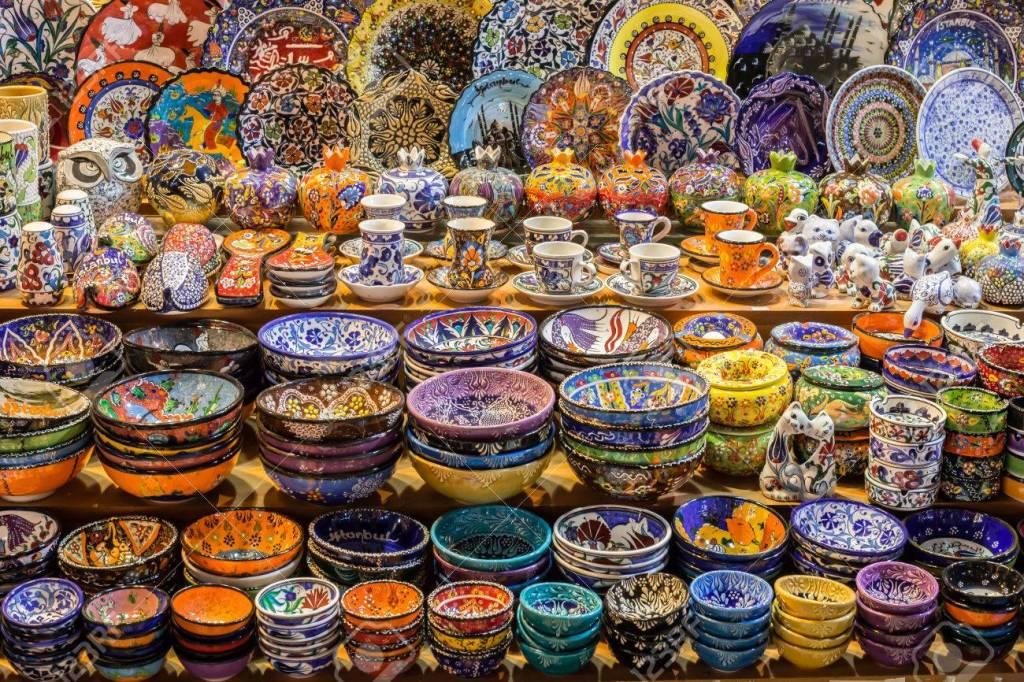 Cerámica tradicional en Gran Bazar