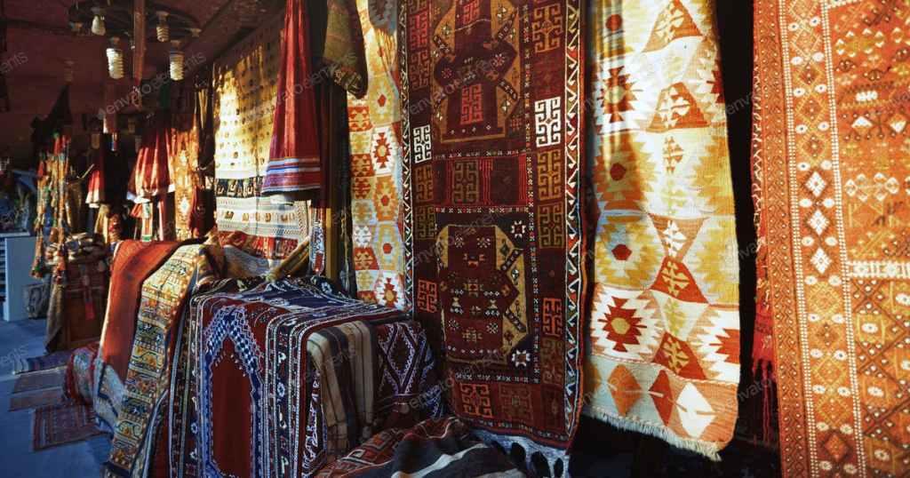 alfombras gran bazar estambul