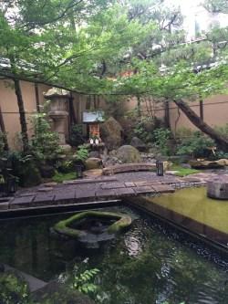 Garden in Inn