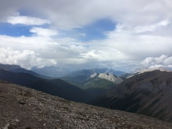 Hike above Miette