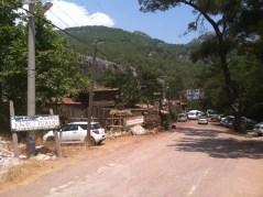 Main road Olympos