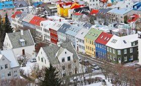 Reykjavik, winter